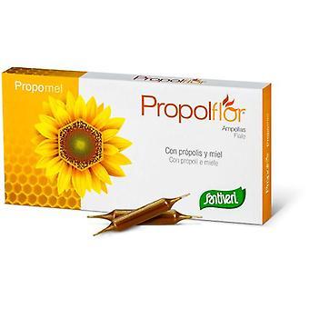 Santiveri Propolflor Propolis and Honey 12 Ampoules