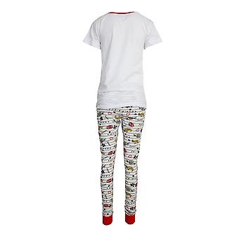 Friends Womens/Ladies But Coffee First Cotton Pyjama Set