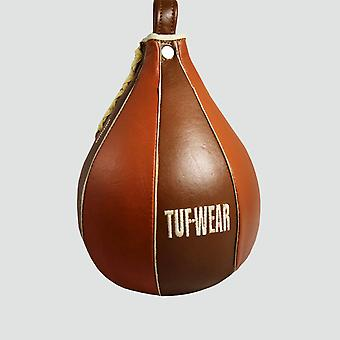 Tuf Wear Classic Brown Leather Speed Ball Classic Brown