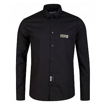 Versace Jeans Couture Slim Fit Icon Logo Poplin Shirt