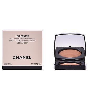 Chanel Les Beiges Poudre Belle Mine Ensoleillée #medium 12 Gr naisille