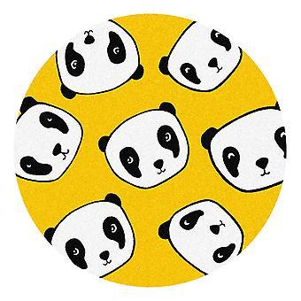 Kids Rug - Panda - Wasbaar - Cirkel 75 cm