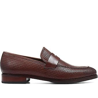 Jones Bootmaker Mens Daniel Leather Penny Loafer