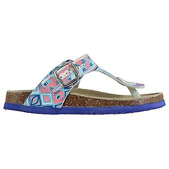 Skechers Boys Go Flip Flops Junior Thong Sandale Pantofi Toe Post Wide Curele
