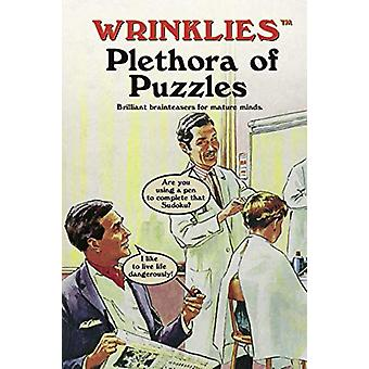 Wrinklies Plethora of Puzzles - Brilliant brainteasers for mature mind