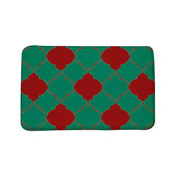 Geometric pattern door mats, home decor door mats, bathroom and kitchen printed carpets