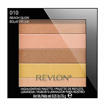 Revlon Highlighting Palette, Peach Glow 010 { 2 Pack }