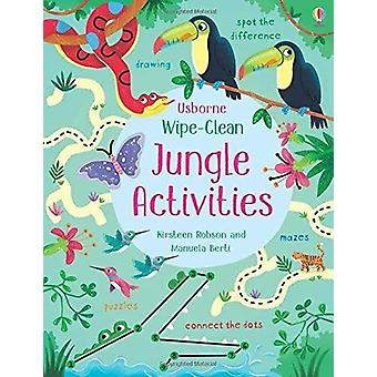 Wipe-Clean Jungle Activities by Kirsteen Robson - 9781474951319 Book