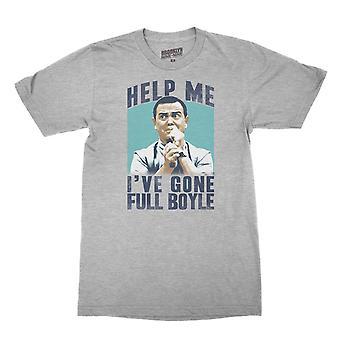 Brooklyn Nine-Nine Hjelp Meg, I've Gone Full Boyle Menn's T-skjorte