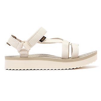 特瓦中级阿里瓦卡妇女白色凉鞋
