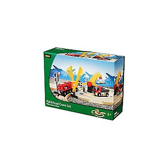 Brio 33208 Brio Rail & Road Crane Set