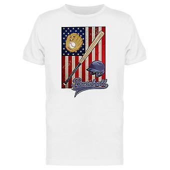 البيسبول الأميركية المحملة طقم الرجال-الصورة عن طريق Shutterstock