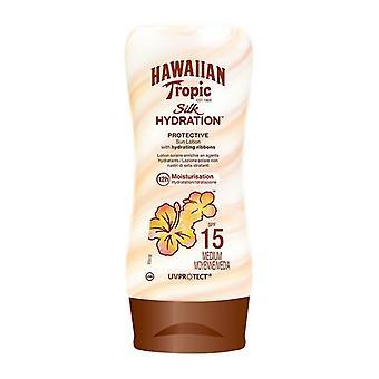 Loción Solar Seda Hawaiana Tropic/Spf 15 - 180 ml