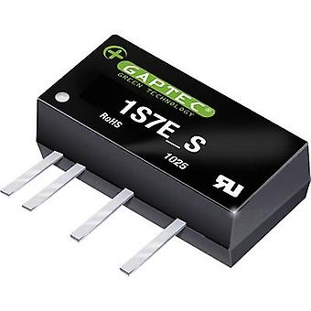 Gaptec 1S7E_2403S1.5U DC/DC converter (print) 24 V DC 3.3 V DC 303 mA 1 W Nr. van de uitgangen: 1 x
