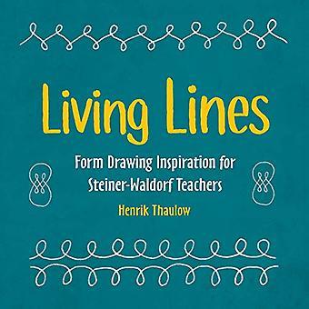 Líneas vivas - Forma de dibujo de inspiración para los maestros Steiner-Waldorf b