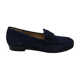 ARRAY Harper Women-apos;s Slip On 9.5 B(M) US Navy-Suede