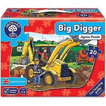 Orchard Toys große Bagger Puzzle