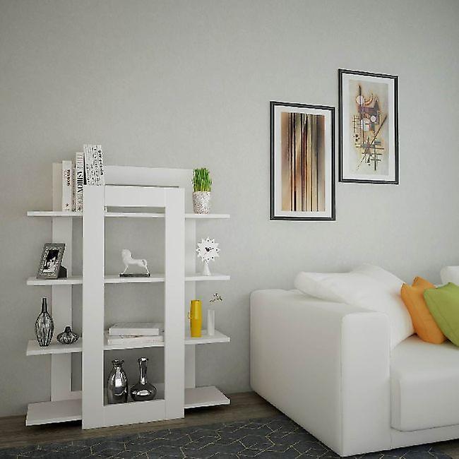 Juist Color White Library à Melaminic Chip 90x23x105 cm