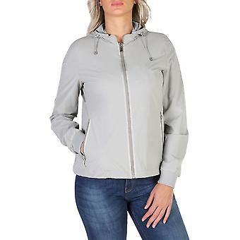 Geox - Clothing - Jackets - W7223ET2334-F1400_SESAMEGREY - Women - gainsboro - 42