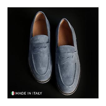 SB 3012 - shoes - moccasins - 1000_CAMOSCIO_JEANS - men - lightblue - EU 43