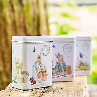 Beatrix potter triplo presente de lata com 120 sacos de chá