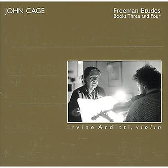 J. Cage - John Cage: Freeman Etudes, Books Three and Four [CD] USA import