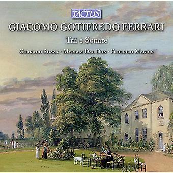 Ferrari / Ruzza / Magris - Trios & Sonatas [CD] USA import