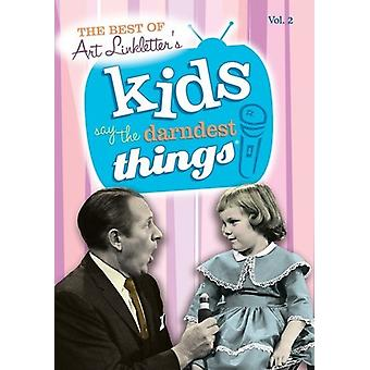 Kids Say the Darndest Things: Vol. 2-Best of Kids [DVD] USA import