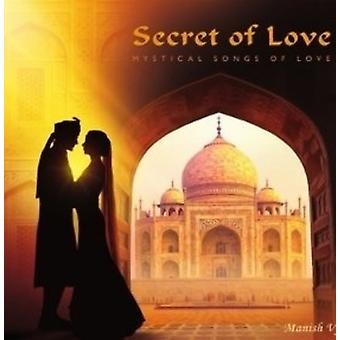 Manish Vyas - Secret of Love: Mystical Songs of Love [CD] USA import