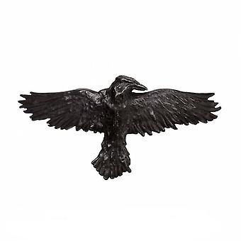 Alchýmia-čierna Raven-sponka na vlasy