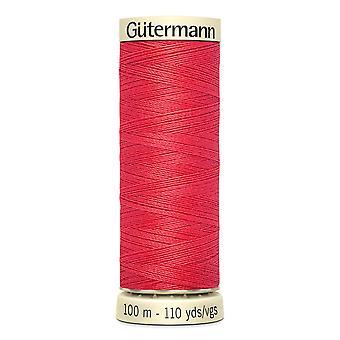 Gutermann Nähen alle 100 % Polyesterfaden 100m Hand- und Maschinenfarbcode - 16