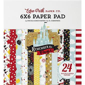 Echo Park Remember The Magic 6x6 Inch Paper Pad