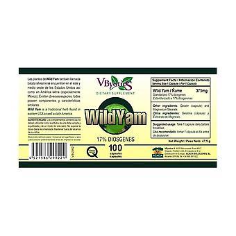 Wild Yam 100 capsules