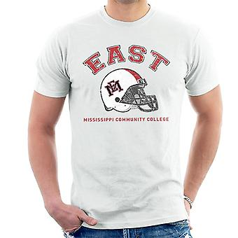 East Mississippi Community College Dark Helmet Men's T-Shirt
