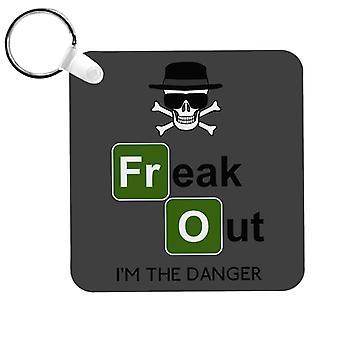 Freaking Danger Breaking Bad Keyring