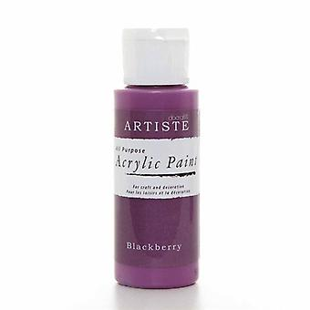 Docrafts Pintura Acrílica (2oz) - Blackberry (DOA 763222)