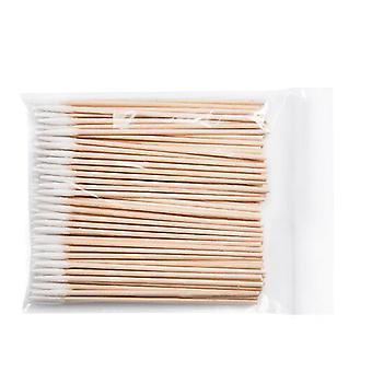 Wooden Cotton Stick Swabs Buds For Cleaning - The Ears