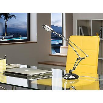 Geïntegreerde LED-tafellamp Chrome