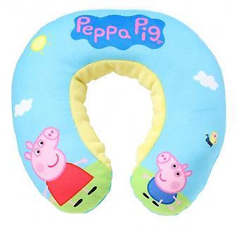 nekkussen Peppa Pig junior pluche blauw 22 cm