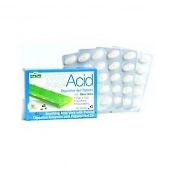 アロエ プラ - Xs 酸消化援助 60 タブレット