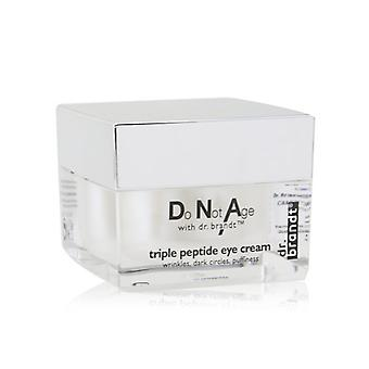 Dr. Brandt Do Not Leeftijd Triple Peptide Eye Cream 15g / 0.5oz