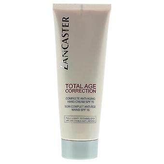 Lancaster Total Age Correction Complete Anti-Aging Hand Creme SPF 15 75ml