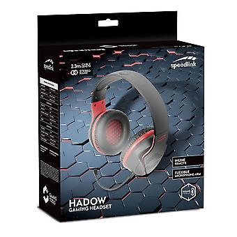 Hadow Stereo PC Gaming Headset with Flexible Microphone Stereo Jack 2.3m Cable
