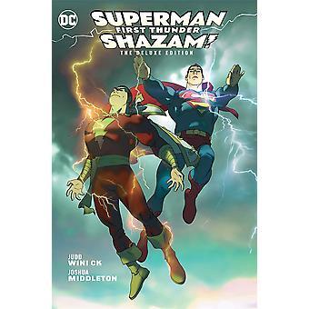 Shazam/Superman: First Thunder English Hardback Book
