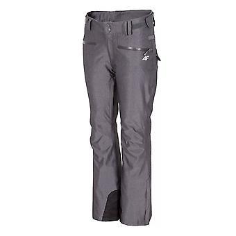 4F SPDN002 H4Z17SPDN002 מכנסי נשים חורף סנובורד