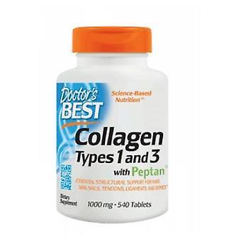 Doctors Best Collagen Types 1 & 3, 540 Tabs