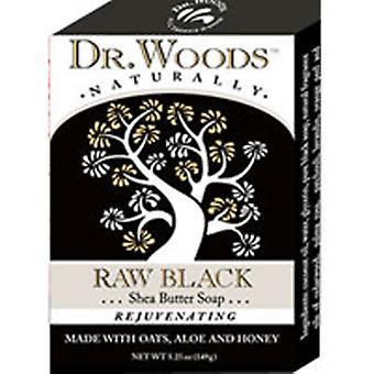 Dr.Woods Products Castile Bar Soap, BLACK EXFOL 5.25 OZ