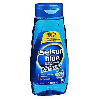 Selsun Blue Natural Dandruff Shampoo, Itchy Dry Scalp 11 oz