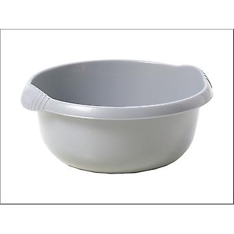 What More Homewares Round Bowl Silver 28cm 11265