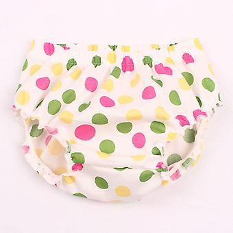 Baby Fashion Ruffle Diaper Cover, Toddler Cotton Dots Shorts